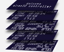 interface du programme de la carte de contrôle V2