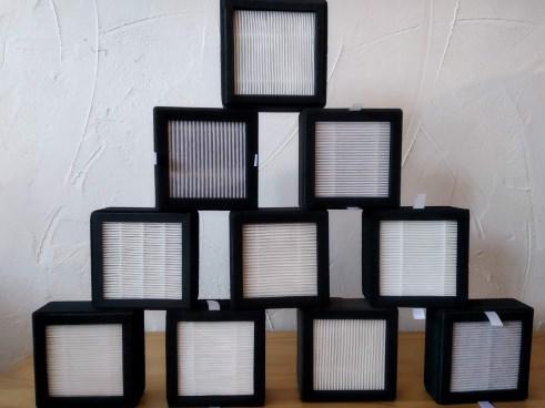 Pyramide de filtres de tests pour alveo3D