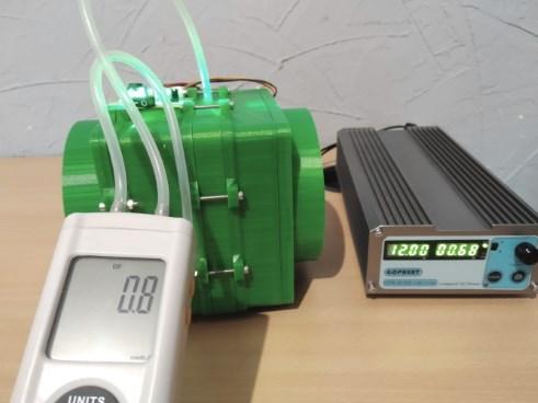 Test de pression avec un filtre P3D