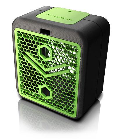 rendu 3D alveoONE-R noir et vert