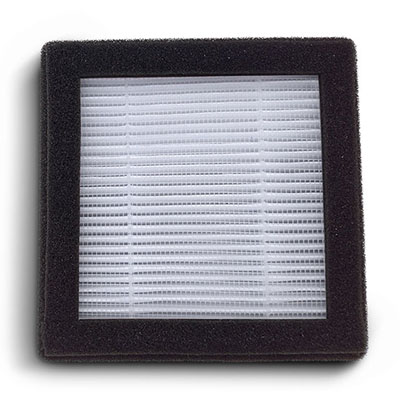 P3D filter with HEPA H13 and activated carbon