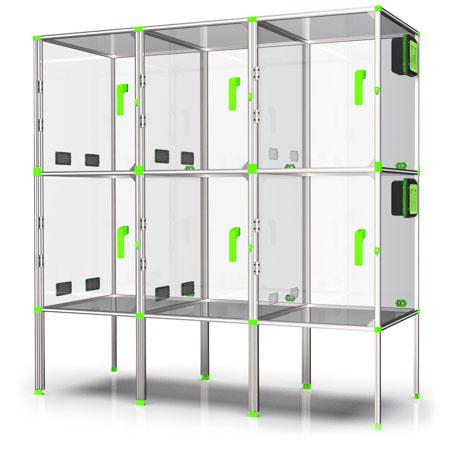 6 emplacements sur mesure pour imprimante 3D