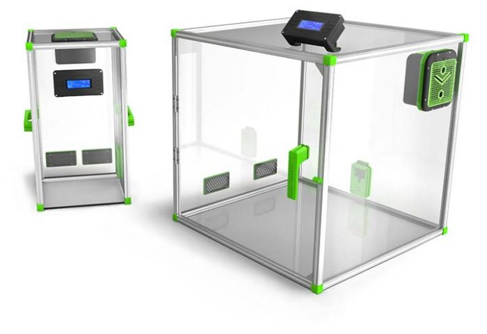 caisson pour imprimante 3D