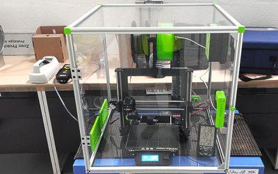 Quelle différence entre le filament PLA et ABS sur les émissions de nanoparticules ?