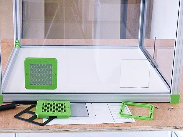 installation des grilles