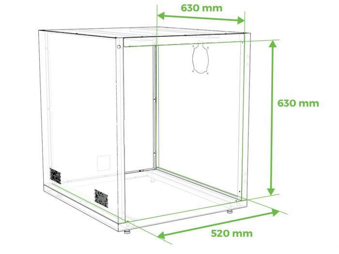 enclosure size